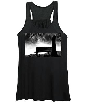 Morning Mist At The Spring Women's Tank Top