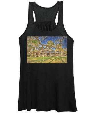 Princess Place Drawn Women's Tank Top by Alice Gipson