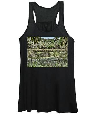 Princess Place Swamp Women's Tank Top by Alice Gipson