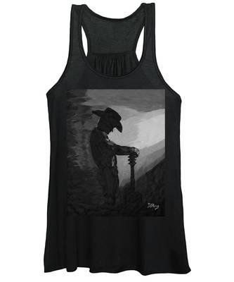 Spirit Of A Cowboy Women's Tank Top