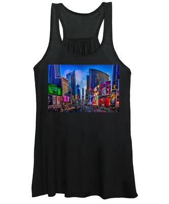 Times Square Women's Tank Top