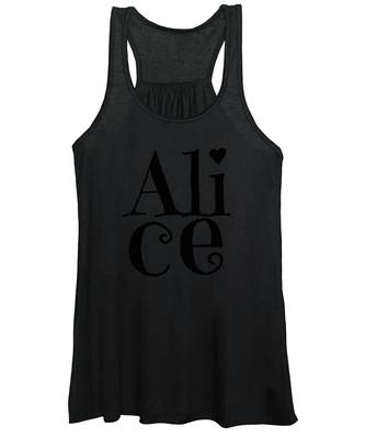 Women's Tank Top featuring the digital art Alice by Alice Gipson