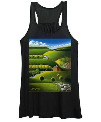 Foothills Of The Berkshires Women's Tank Top
