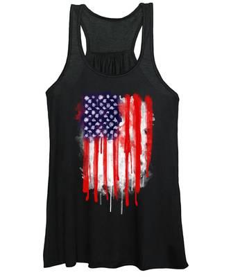American Women's Tank Tops
