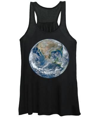 Blue Marble 2012 Planet Earth Women's Tank Top