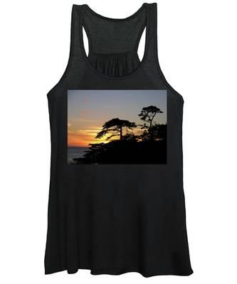 California Coastal Sunset Women's Tank Top