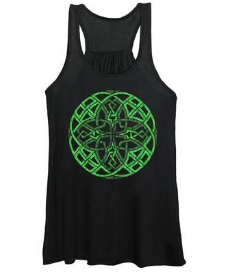 Celtic Clover Mandala Women's Tank Top