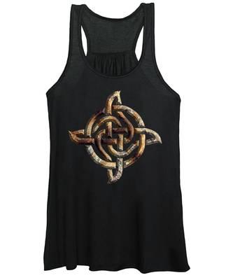 Celtic Rock Knot Women's Tank Top