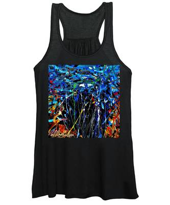 Eye In The Sky And Water Women's Tank Top