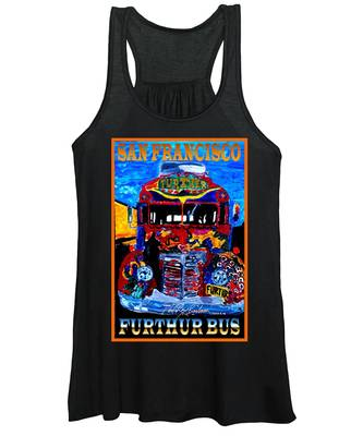 50th Anniversary Further Bus Tour Women's Tank Top