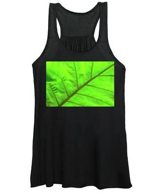 Green Abstract No. 5 Women's Tank Top