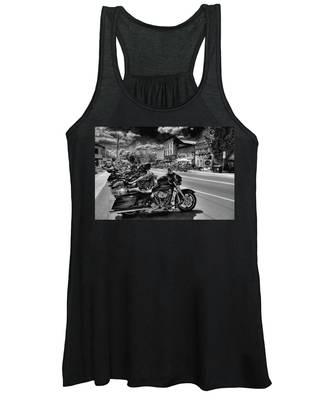 Hogs On Main Street Women's Tank Top
