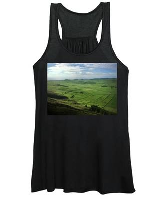 Incide The Bowl Terceira Island, Azores, Portugal Women's Tank Top