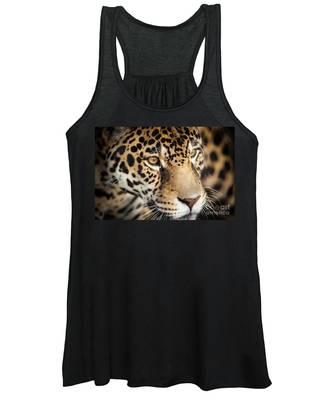 Leopard Face Women's Tank Top