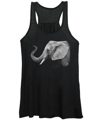 Lucky - Black And White Women's Tank Top