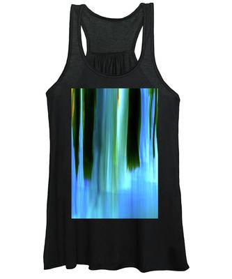 Moving Trees 37-05 Portrait Format Women's Tank Top