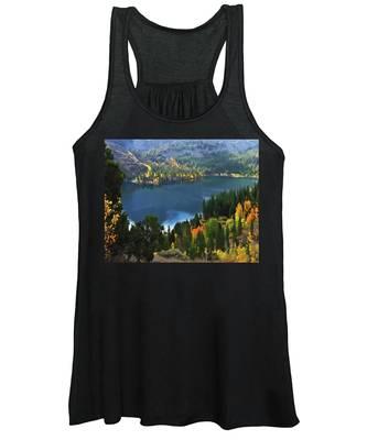Rock Creek Lake In Fall Women's Tank Top