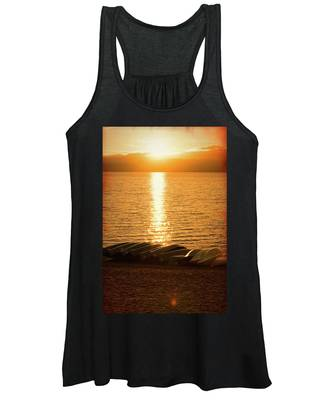 Sunset On Quinault Women's Tank Top