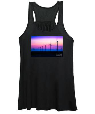 Sunset Spinning Women's Tank Top