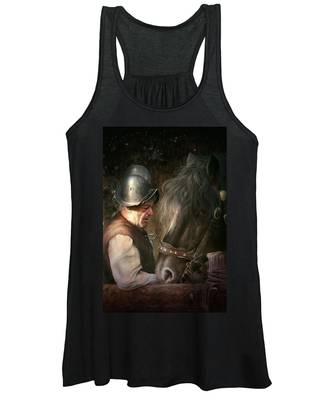 The Old Man And His Trusty Friend Women's Tank Top
