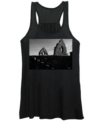 Women's Tank Top featuring the photograph The Old Steps by Rasma Bertz