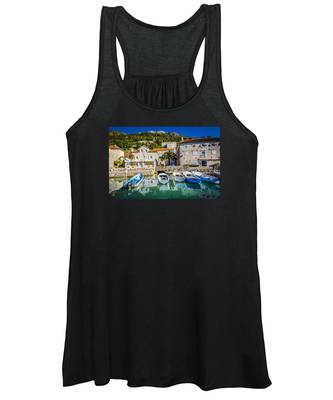 The Waiting Boats Women's Tank Top