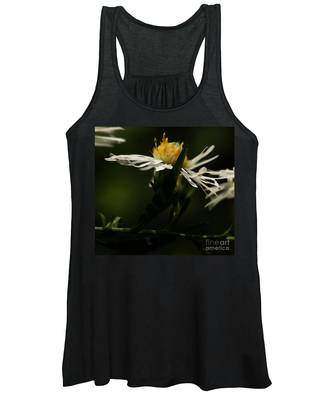 White Aster Women's Tank Top