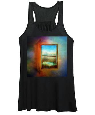 Window To Anywhere Women's Tank Top
