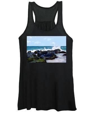Ocean Meets The Coast Women's Tank Top