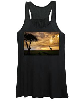 The Plains Of Africa Women's Tank Top