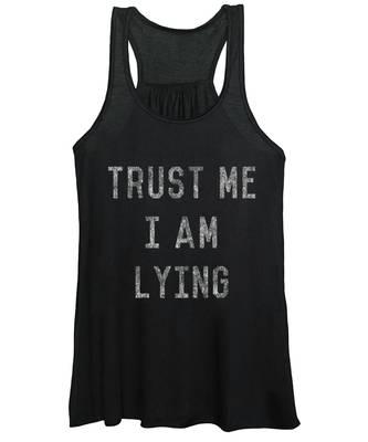 Lying Women's Tank Tops