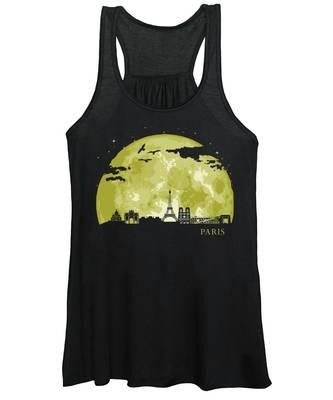 Paris Skyline Women's Tank Tops