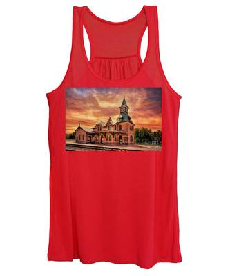 Point Of Rocks Train Station  Women's Tank Top