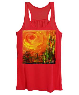 The Sun At The End Of The World Women's Tank Top