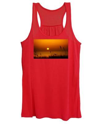 Sunrise Sea Oats Women's Tank Top