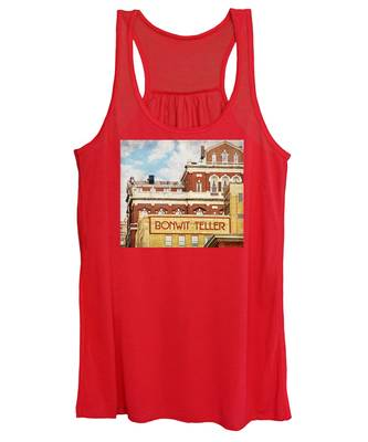Women's Tank Top featuring the photograph Bonwit Teller by Alice Gipson