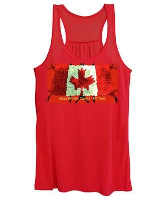 Canada 150 Years Women's Tank Top