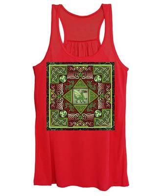 Celtic Dragon Labyrinth Women's Tank Top