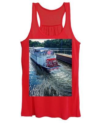 Champlain Canal Patriot Women's Tank Top