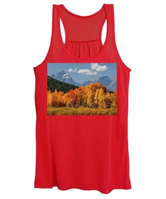 Fall In The Tetons Women's Tank Top