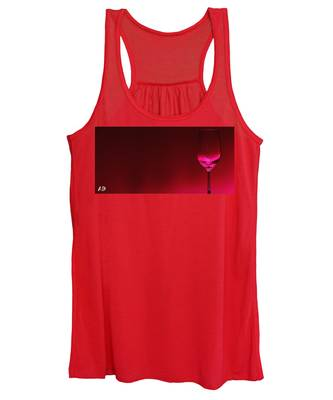 Wine Glasses Women's Tank Tops