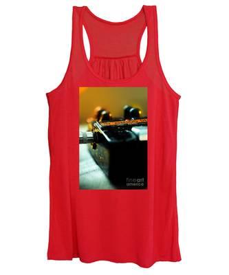 Guitar Pedal Women's Tank Top