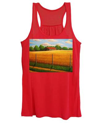 Home On The Farm Women's Tank Top