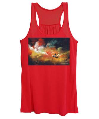 Journey To Outer Space Women's Tank Top