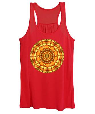 Layers Of Gold Women's Tank Top