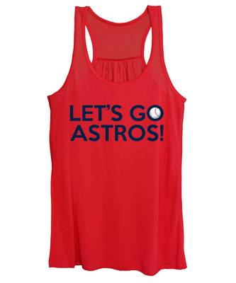 Let's Go Astros Women's Tank Top