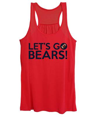 Let's Go Bears Women's Tank Top