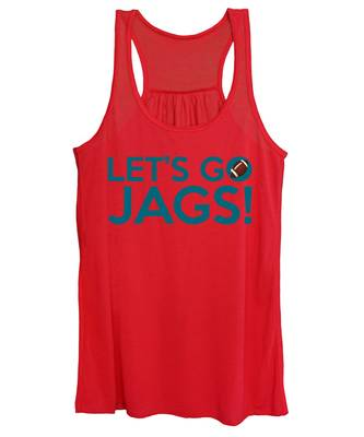 Let's Go Jags Women's Tank Top