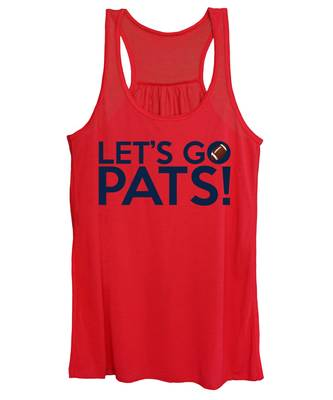 Let's Go Pats Women's Tank Top