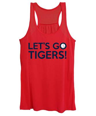 Let's Go Tigers Women's Tank Top